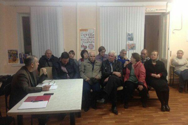 Депутат Думы города-курорта Кисловодска Шамиль Касымов отчитался перед жителями избирательного округа №14
