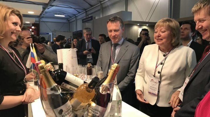 Продукция винодельческих предприятий Ставропольского края представлена на международной выставке в Италии