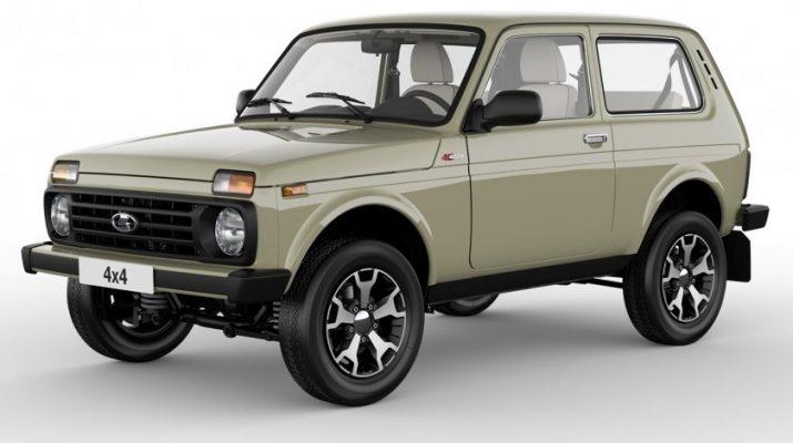 К 40-летнему юбилею «Нива» АвтоВАЗ преобразит легендарный автомобиль