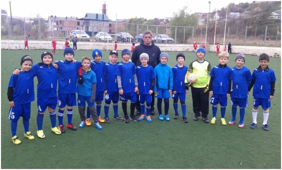 Накануне Первомая в Кисловодске прошел юношеский турнир по футболу