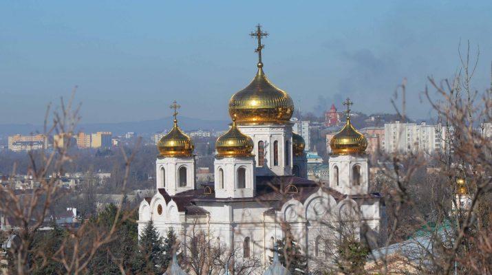 В Спасском кафедральном соборе Пятигорска выступил камерный хор РСО-Алания