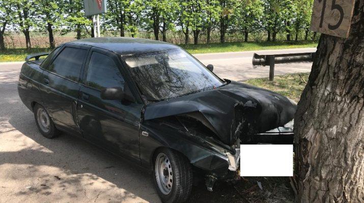 ДТП в Ессентуках: автоледи въехала в дерево