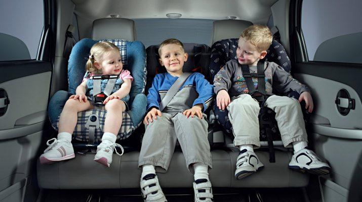В законную силу вступили поправки в ПДД, касающиеся перевозок детей