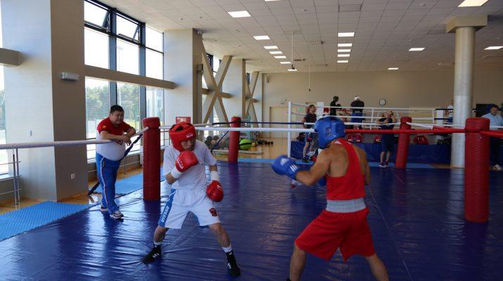 В Кисловодске проходят тренировки сборной России по боксу